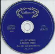 CD - Ella Fitzgerald - A Tisket A Tasket - 24 Swing Standards From The First Lady Of Jazz