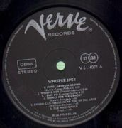 LP - Ella Fitzgerald - Whisper Not - Stereo; full lamination