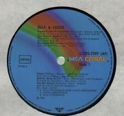 LP - Ella Fitzgerald, Louis Armstrong - Ella & Louis