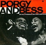 LP - Ella Fitzgerald, Louis Armstrong - Porgy And Bess