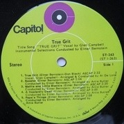 LP - Elmer Bernstein - True Grit