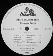 LP - Elsie Bianchi Trio - Atlantis Blues