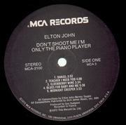 LP - Elton John - Don't Shoot Me I'm Only The Piano Player - orig 1st us press