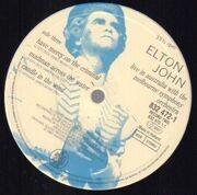 LP - Elton John - Live in Australia