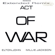12'' - Elton John / Millie Jackson - Act Of War
