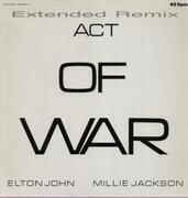 12'' - Elton John / Millie Jackson - Act Of War