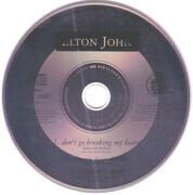 CD Single - Elton John & RuPaul - Don't Go Breaking My Heart