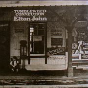 LP - Elton John - Tumbleweed Connection - splendid booklet