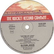 LP - Elton John - Victim Of Love