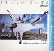 Double LP - Elton John With Melbourne Symphony Orchestra - Live In Australia
