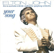 7inch Vinyl Single - Elton John With Melbourne Symphony Orchestra - Your Song