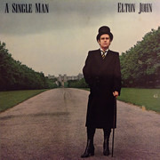 LP - Elton John - A Single Man - Monarch Pressing, Gatefold