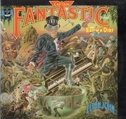 LP - Elton John - Captain Fantastic And The Brown Dirt Cowboy - Gatefold +poster + 2 booklets