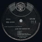 LP - Elton John - Greatest Hits - Gatefold