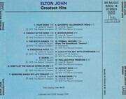CD - Elton John - Greatest Hits