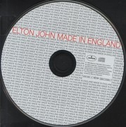 CD Single - Elton John - Made In England - Cardboard sleeve
