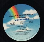 LP - Elton John - Madman Across The Water - gatefold
