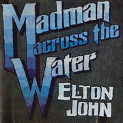 LP - Elton John - Madman Across The Water - Textured Gatefold