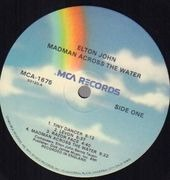 LP - Elton John - Madman Across The Water