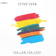 7inch Vinyl Single - Elton John - Too Low For Zero
