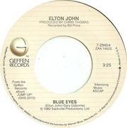 7'' - Elton John - Blue Eyes