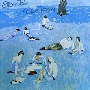 Double LP - Elton John - Blue Moves - Gatefold