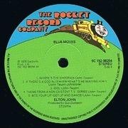 Double LP - Elton John - Blue Moves - Gatefold