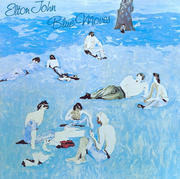 Double LP - Elton John - Blue Moves