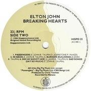 LP - Elton John - Breaking Hearts