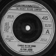 7'' - Elton John - Candle In The Wind
