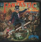 LP - Elton John - Captain Fantastic And The Brown Dirt Cowboy - FOC, no poster, contains one booklet