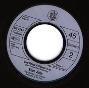 7'' - Elton John - Club At The End Of The Street