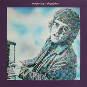 LP - Elton John - Empty Sky - textured cover