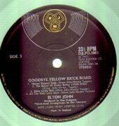 Double LP - Elton John - Goodbye Yellow Brick Road