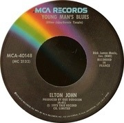7'' - Elton John - Goodbye Yellow Brick Road