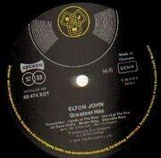 LP - Elton John - Greatest Hits