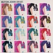LP - Elton John - Leather Jackets