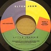 7'' - Elton John - Little Jeannie