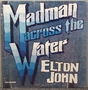 LP - Elton John - Madman Across The Water - Gatefold