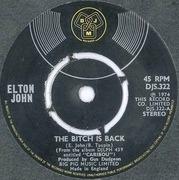 7'' - Elton John - The Bitch Is Back