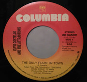 7inch Vinyl Single - Elvis Costello & The Attractions - The Only Flame In Town