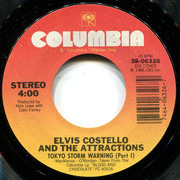 7inch Vinyl Single - Elvis Costello & The Attractions - Tokyo Storm Warning