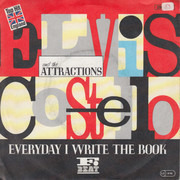7inch Vinyl Single - Elvis Costello & The Attractions - Everyday I Write The Book
