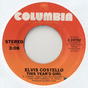 7inch Vinyl Single - Elvis Costello - This Year's Girl