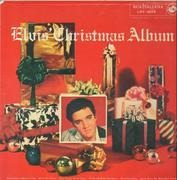 LP - Elvis - Elvis' Christmas Album - All Silver RCA Label