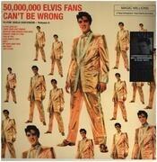 LP - Elvis Presley - 50,000,000 Elvis Fans Can't Be Wrong - 180g