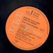 LP - Elvis Presley - 50,000,000 Elvis Fans Can't Be Wrong