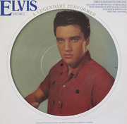 12inch Vinyl Single - Elvis Presley - A Legendary Performer - Volume 3 - +booklet