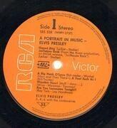 LP - Elvis Presley - A Portrait In Music - No Booklet, +ML+ of Switzerland