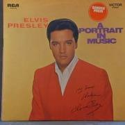 LP - Elvis Presley - A Portrait In Music - GATEFOLD incl. Poster